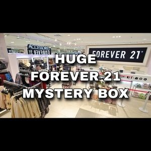✨FOREVER 21 MYSTERY BOX✨ (MORE CLOTHING!)